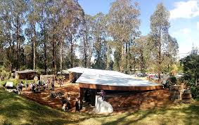 made of rubbish but radically sustainable victoria gets its first earthship