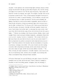 essay how does dante s use of optical theory influence his moral vi  9