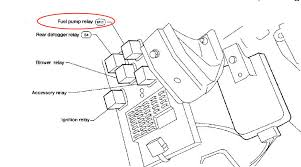 where is the fuel pump relay located on a 1998 nissan altima 2008 Nissan Altima Fuse Box Diagram 2008 Nissan Altima Fuse Box Diagram #80 2006 nissan altima fuse box diagram