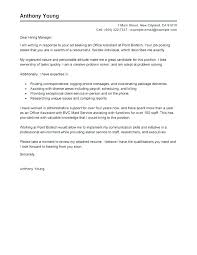 Executive Assistant Cover Letter Samples Administrative