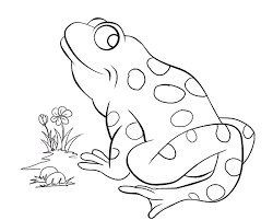 Small Picture Frog And Toad Coloring Pages Bebo Pandco