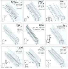 here are shower glass door seal decor also rubber here are shower glass door seal decor
