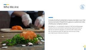 Food Presentation Template Food Premium Powerpoint Template Themes For Food Ppt