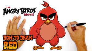 1280x720 how to draw red the angry birds
