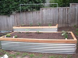 corrugated steel gardens metal raised perth diy galvanized garden veggie beds 8