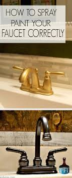 painted furniture ideas how to spray paint your faucet correctly painted furniture ideas