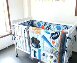 baby boy bedding sets best baseball baby nursery bedding photo 1 of