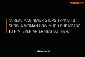 40 Quotes That Prove Even Real Men Can Fall In Love Beauteous Real Men Quotes