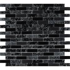 glissen 12 in x 12 in x 6mm glass mesh mounted mosaic tile