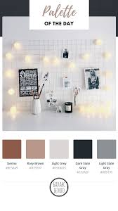 office color palette. #moodboard White Home Office Color Palette #interior
