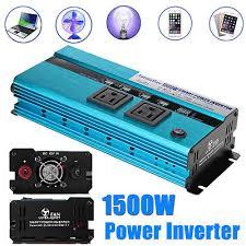 Universal 1500W-<b>3000W Peak Power</b> Inverter Converter for <b>Car</b> DC ...