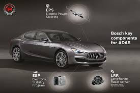 Guida parzialmente autonoma Bosch highway assist su Maserati MY 2018