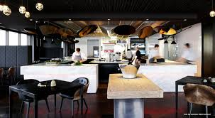 Restaurant Open Kitchen Design