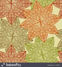 Fall Patterns Beauteous Fall Vector Seamless Floral Pattern