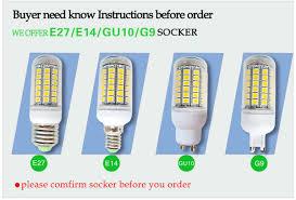 Cheap 5050 SMD 69 LEDs <b>Corn Bulb</b> E27 E26 E14 <b>GU10</b> G9 ...