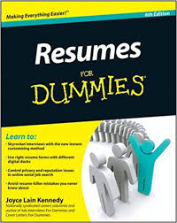 Resume Writing 101 Extraordinary Resumes For Dummies Joyce Lain Kennedy 48 Amazon