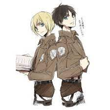 Share a gif and browse these related gif searches. Best Friends Eren X Armin Oneshots