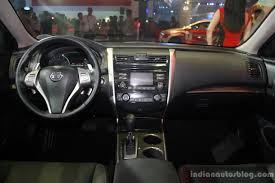 nissan altima 2014 interior. nissan altima interior at the philippines international motor show 2014