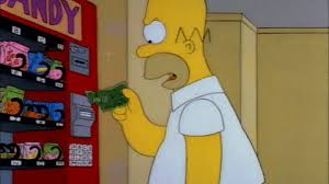 Simpsons Vending Machine Magnificent Angry Season 48 GIF Find Share On GIPHY