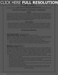 Demand Planner Resume Sample Resume Work Template