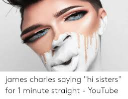 Let's look at some of it. James Charles Hey Sisters Meme Gif