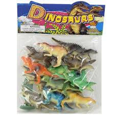 Wholesale Kids 12 Piece Prehistoric Dinosaur Herd Toys in an Assortment of Species - Case 72