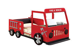Fire Engine Twin Car Bed