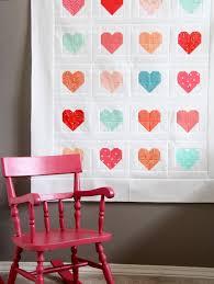 Simple Heart Quilt | Cluck Cluck Sew & Simple Heart Quilt Adamdwight.com