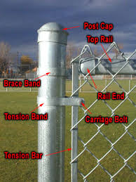 chain link fence installation. Beautiful Chain Chain Link Fence Parts Intended Installation