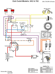 wiring diagram series only cub cadets ih built 682 782
