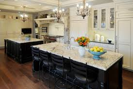 black and white kitchen decoration using white glass crystal candle french country chandelier kitchen