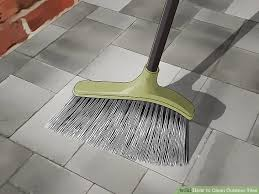 method 1 cleaning porcelain tiles image titled clean outdoor tiles step 1