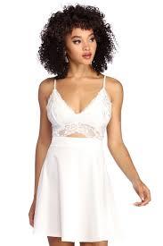 Unique one shoulder dresses of different colors ideas Chianti Fresh n Fine Skater Dress Windsor Womens Dresses Windsor Store