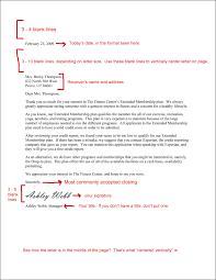 Full Block Business Letter Format Style Application Bussines Best