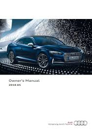2018 audi owners manual. Exellent 2018 Inside 2018 Audi Owners Manual