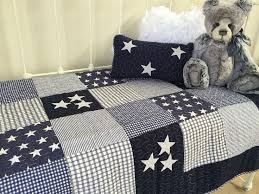 boys cot quilt 2 pce set lachlan navy baby boys nursery linens n things