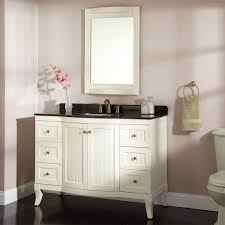Curved Bathroom Vanity Cabinet Bathroom Guest Bathroom Vanity With Bathroom Storage Ideas White