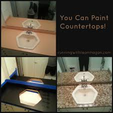 Can I Paint Countertops You Can Paint Countertops Running With Team Hogan