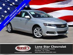 Certified 2018 Chevrolet Impala Vehicles for Sale in Houston - Lone ...