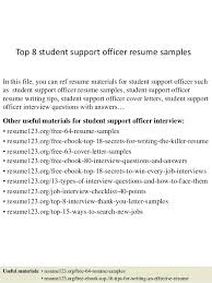 Resume Examples Pdf Student Services Officer Resume Police Officer Resume Samples No 87