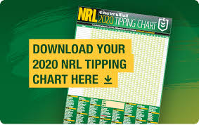 2020 Nrl Tipping Chart Download Free Pdf Rugby League