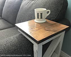 easy diy sofa tables heathers handmade life coffee table wh