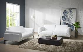 genuine and italian leather modern designer sofas manhattan contemporary white leather sofa set