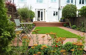 Small Garden Designs Amazing Yard Makeovers Lawn Gardens Design With Round  Dark Grey Ideas And Stunning