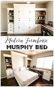 murphy bed in office. learn how to build this stunning modern farmhouse murphy bed for your home the tutorial in office
