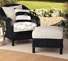 black wicker furniture. On Black Wicker Furniture Pottery Barn