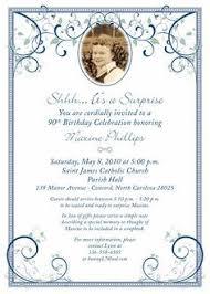 80th Surprise Birthday Invitation Wording 90th Birthday Party