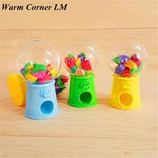 Mini Candy Vending Machine Beauteous 48PC Lovely Hot Mini Candy Dispenser Gumball Vending Machine Coin Box