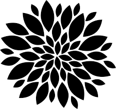 Clipart Design Silhouette Flower Floral Design Petal Common Daisy Free Commercial