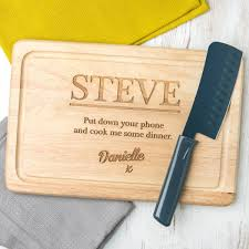 personalised cutting board. Fine Cutting And Personalised Cutting Board